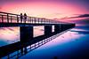 By the beach (Maria Eklind) Tags: öresund ribban beach ribersborg malmö strand water himmel sweden brygga sunsetlight sunset sky ocean bridge skånelän sverige se