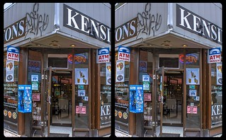 Open door 3-D / CrossEye / Stereoscopy / HDRaw