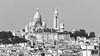 Montmartre (Carsten Weigel) Tags: carstenweigel paris montmartre sacrecoeur monochrome bw schwarzweiss gx8 panasonic