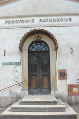 Dawny szpital (magro_kr) Tags: bochnia polska poland małopolska malopolska małopolskie malopolskie portal drzwi architektura door architecture