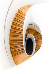 Orange Crush (Rich Walker75) Tags: spiral staircase stairs abstract photography london england art architecture white orange canon eos80d eos efs1585mmisusm