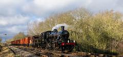Vans (Peter Leigh50) Tags: great central railway winter gala gcr train van swithland steam locomotive engine railroad rail fujifilm fuji xt10
