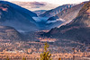 Revelstoke, British Columbia (aud.watson) Tags: canada britishcolumbia columbiashuswap revelstoke selkirkmountains mtrevelstoke columbiariver revelstokenationalpark town mountain mountains valley river water forest wood tree trees autumncolours deciduoustrees conifers landscape sky