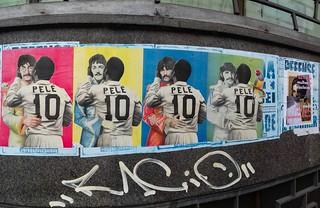 The Beatles / Pelé