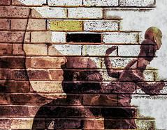 Fuga (Swissrock-II) Tags: digitalmania wallart challenge photoshop photomanipulation brushes texture march 2018 andykobel faces art
