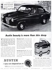 Austin A30 Seven (1951-52) (andreboeni) Tags: publicity advert advertising advertisement illustration austin a30 a35 seven classic car automobile cars automobiles voitures autos automobili classique voiture rétro retro auto oldtimer klassik classica classico