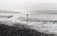 Rough (Antony J  Shepherd) Tags: beach wittering spotmaticf pentaxspotmaticf cheapfilm fujicolor200