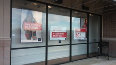 Front Windows (Retail Retell) Tags: gap factory store outlet closing closure liquidation sale south lake centre southaven ms desoto county retail tanger relocation
