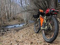 Charlie Creek Ride (Doug Goodenough) Tags: bicycle bike cycle pedals spokes surly ecr 29 plus packing bikepacking creek charlie asotin washington march 2018 gravel grinding dirt trail 18 drg531 drg53118 drg53118p nox carbon fiber wheels steel