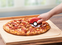 Pokemon Poke Ball Pizza Cutter (mywowstuff) Tags: gifts gadgets cool family friends funny shopping men women kids home