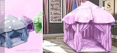 Violetility - Play Tents (Violetility) Tags: blush secondlife sl cute kawaii little
