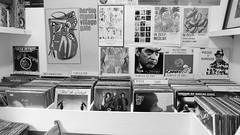 Vinyl browsing 01 (byronv2) Tags: vinyl album record lp music musicshop vox boxrecord storerecord shopshopstockbridgeedinburghscotlandblack whiteblack white bw monochrome shopping ststephensstreet saintstephensstreet