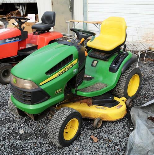 """John Deere 155CC 25hp 48"""" Riding Mower w/ only 260hrs ($1,400.00)"""