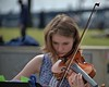 Talented Young Violinist (Scott 97006) Tags: girl musician violin bow music entertaining talent