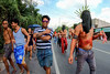 San Fernando street images on Good Friday (17) (walterkolkma) Tags: philippines pampanga sanfernando baranguay street goodfriday procession christpassion penitence tricycle poor poverty devotion flagellation cross