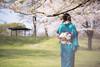 Breath of Spring (ai3310X) Tags: carlzeiss ycontax sonnar t2885 portraits ポートレート 着物 桜 和装 和服