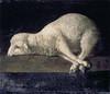 Francisco de Zurbaran -  Agnus Dei [1639] - (petrus.agricola) Tags: agnus dei sacrificial lamb god
