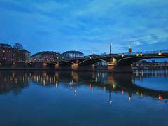 blue hour (Matthias Bober) Tags: frankfurt main frankfurtammain hessen germany de