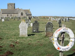 Tintagel - St Materiana (pefkosmad) Tags: stmateriana church norman exterior cornwall england uk holiday vacation vacances churchyard graves warmemorial placeofworship hallowedground holy churchofengland christianity protestant englands1000bestchurches