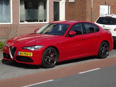 2017 Alfa Romeo Giulia Veloce (harry_nl) Tags: netherlands nederland 2018 soestdijk alfaromeo giulia veloce nj706k sidecode9