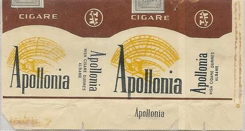 "CIGARE APOLLONIA. FABRIKA E DUHAN-CIGARE ""TELAT NOGA"", DURRES."