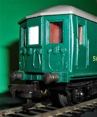 Triang Railways Southern 2BIL Dummy coach 1957. (Ledlon89) Tags: southernelectric train emu 2bil southernregion britishrailways railway electric triangrailways triang toy model trainset coach motorcar rovex 1957 1950s
