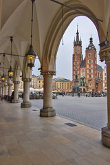 Basílica Santa María - Cracovia (Polonia) (U2iano) Tags: santa maria cracovia krakow polonia poland iglesia church square plaza
