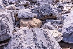 Heart Creek, Canmore (aud.watson) Tags: canada alberta canadianrockies albertasrockies bighornno8 transcanadahighway bowvalley heartcreek heartmountain mountain mountains mountainside valley valleys gorge canyon rock rocks stone stones boulders creek water erosion limestone