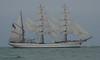 Le Havre - Parade des Grands voiliers - Le Sagrès II (jeanlouisallix) Tags: le havre seine maritime haute normandie france mer plage voiliers vieux gréements marine armada armement navire navigation