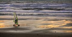 Sail (JLM62380) Tags: hardelot france sea beach mer paysage océan sunset waves vagues sail charàvoile
