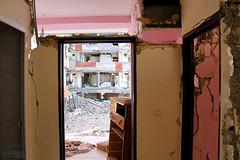 Room with a View (2) (Mahmoud R Maheri) Tags: rthquake earthquakedamage iran kermanshah sarpolzahab buildingdamage damage earthquakedevastation buildings multistoreybuildings interior house