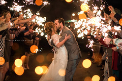 Jay + Evelyn Beginning their journey (Rich Aguilar Photography) Tags: bokeh bokehphotography jayevelyn aguilarphotography wedding weddingphotography sparkersendoff sparklers photographyeffects photoshop lightroom kissing weddingideas
