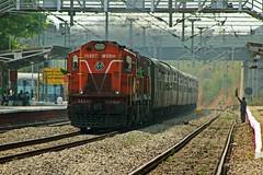Nagavali Exp. (B V Ashok) Tags: nagavali superfast express 20809 ecor sambalpurnanded sbpned cvb cavalrybarracks scr kazipet kzj wdg3a 14967 greatphotographers