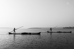 (Navaneeth Kishor) Tags: boat boats lake ashtamudi ashtamudilake ashtamudikayal kayalkerala backwater backawaters munroe munroeisland munroethuruth boating keralam kerala kollam travel black white blackandwhite monochrome bnw
