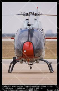 Military helicopter of training
