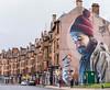 Glasgow Street Art (iammattdoran) Tags: mural street art artwork streetscape streetscene high terraces block architecture glasgow scotland grafiti spraypaint paint creative urban city houses shops vibrant colours