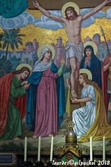 Lourdes 097-A (José María Gil Puchol) Tags: aquitaine autel basilique catholique cathédrale croix eau eaumiraculeuse fidèle france josémariagilpuchol jésus lourdes mort paysbasque pélèrinage religion