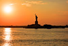 State of Liberty. (Chechu Garcia) Tags: stateofliberty newyork ellisisland eeuu america libertad libertyisland estatuadelalibertad estatua atarceder sunset nyc photography chechuybeahoneymoon