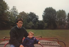Paul and Tom 1990's (Bury Gardener) Tags: family friends relatives oldies snaps scans people folks