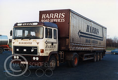 C721ABA ERF CP HARRIS (Mark Schofield @ JB Schofield) Tags: jim taylor transport road commercial vehicle lorry truck wagon tipper tanker artic eight wheeler haulage contractor bulk haulier tractor unit