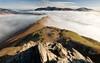 On Top of the World (davepsemmens) Tags: catbells lakes lakedistrict fells derwent inversion fog mist climb walk walking views walker early hike hiking keswick derwentwater