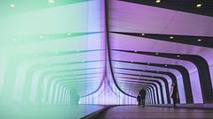 Kings Cross Tunnel (danpower123) Tags: kings cross tunnel colourful colour london art artful architecture sony a6000 alpha