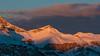 Pinky peak (Nicola Pezzoli) Tags: dolomiti dolomites unesco val gardena winter snow alto adige italy bolzano mountain nature december ski pink sunset odle clouds sky zoom
