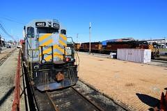 Southwest Pennsies (BravoDelta1999) Tags: southwesternpennsylvania swp railroad pennsylvaniarailroad prr railway scottdale pennsylvania emd gp403 4002 sd402 3501 3503