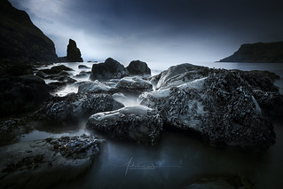 Talisker Beach Carbost Isle of Skye Scotland