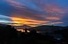 Sunrays (Jocey K) Tags: newzealand nikond750 southisland akaora scene hills clouds sky sunset sea water akaroaharbour bankspeninsula