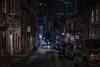 Walking (karinavera) Tags: city night photography urban ilcea7m2 people sanfrancisco walking