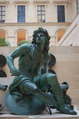 Une visite au Département des sculptures du Louvre (5) (Géraud de St G) Tags: louvre puget statue