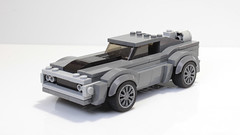 Lego Ice Charger from Fate of the Furious (hachiroku24) Tags: lego dodge charger ice fast furious fate moc