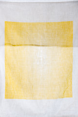 Pillowslip (Yellow & White) (pni) Tags: pillowslip pillowcase white yellow fabric envelope cinc helsinki helsingfors finland suomi pekkanikrus skrubu pni surface